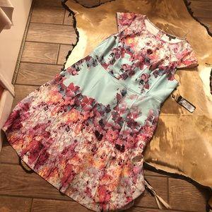 Adrianna papell 20w dress 🐸*